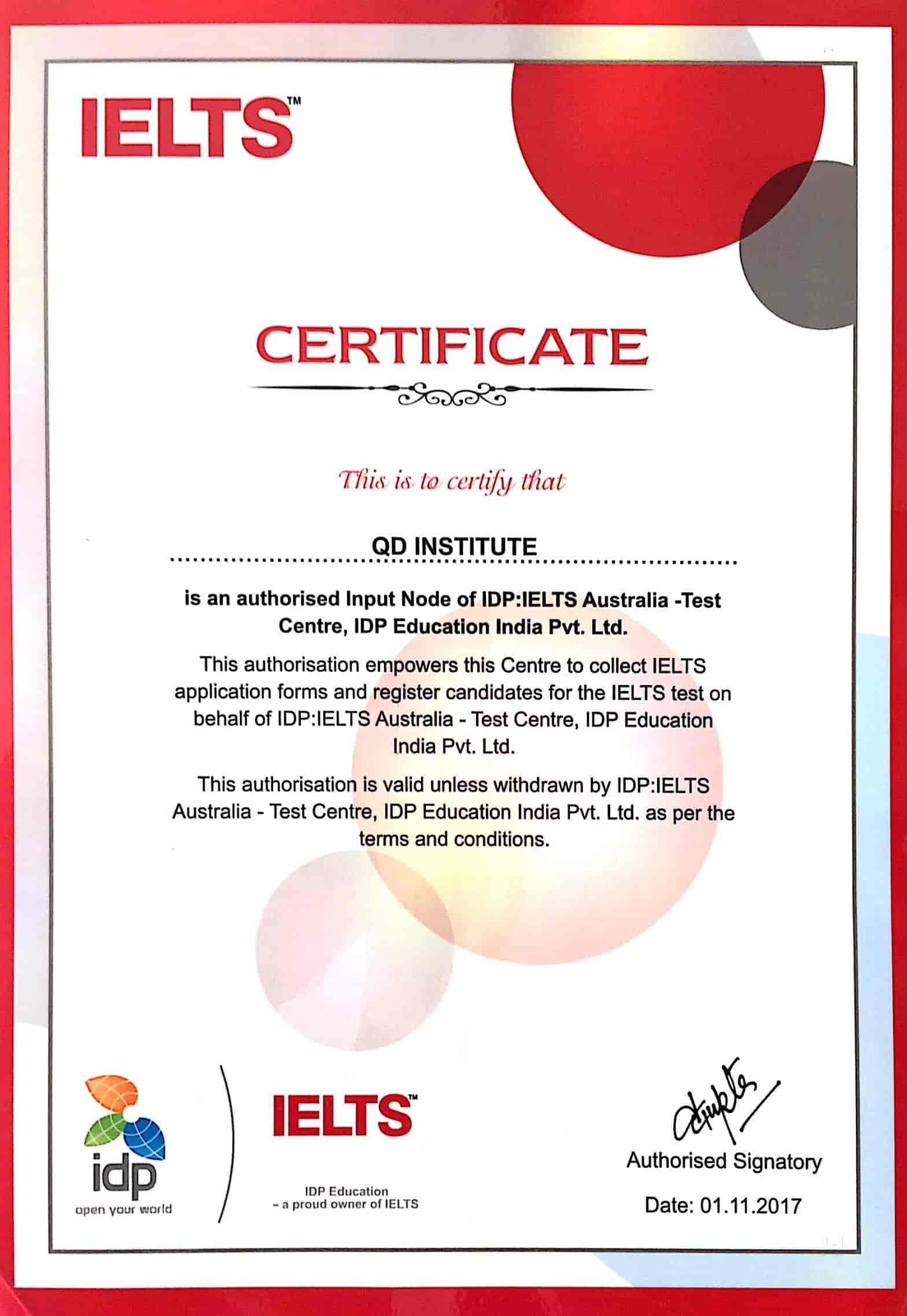 QD Institute For IELTS, Dugri - Spoken English Institutes in ...