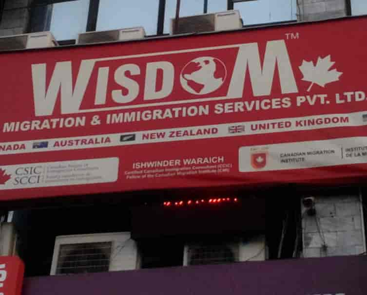 Wisdom Immigration Consultancy Services Inc - Education Consultants in  Ludhiana - Justdial