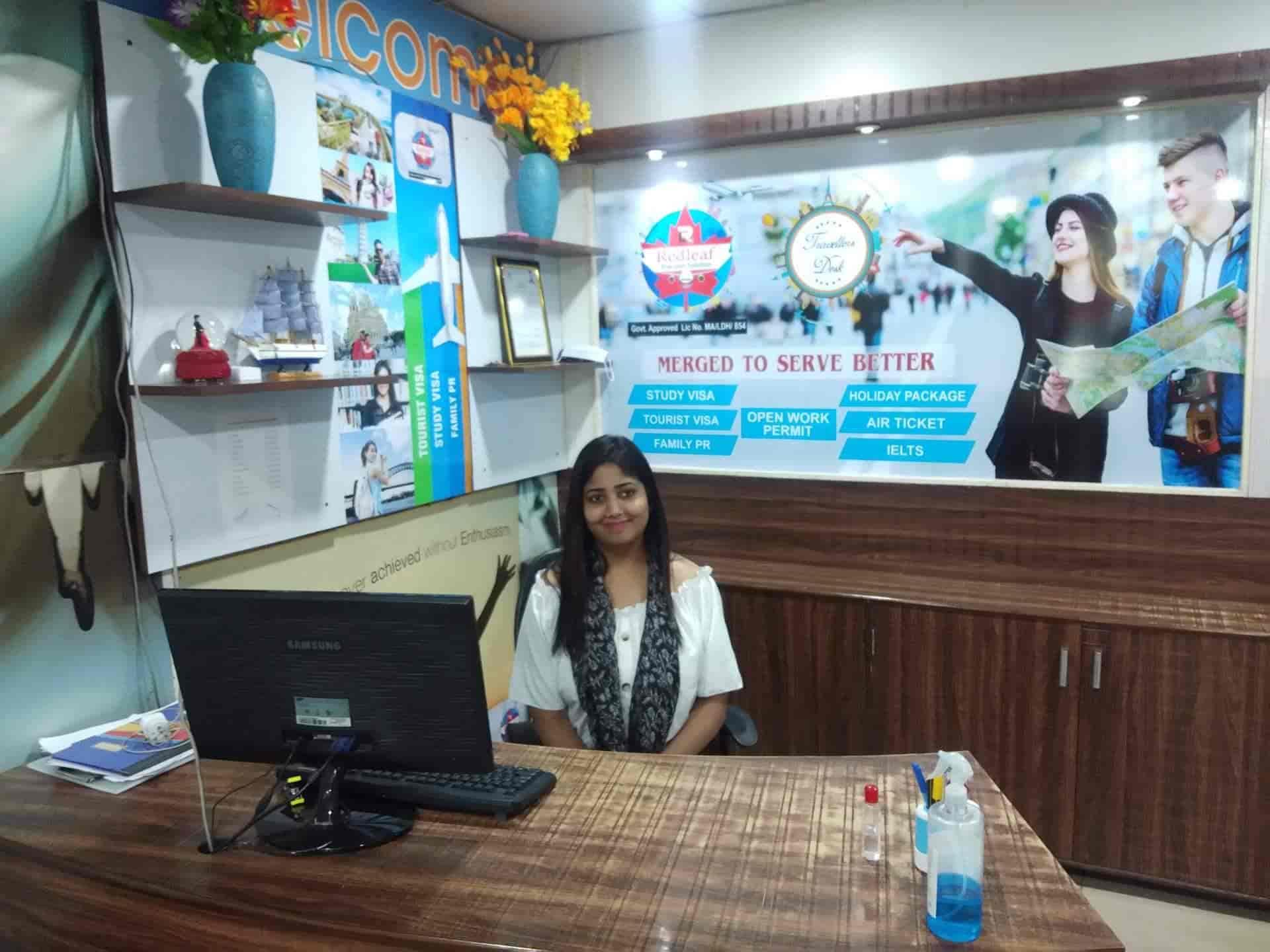 Red Leaf & Travellers Desk Pvt. Ltd., Bharat Nagar Chowk - Immigration  Consultants in Ludhiana - Justdial