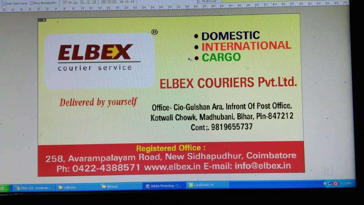 Elbex Courier Service, Madhubani - Courier Services in