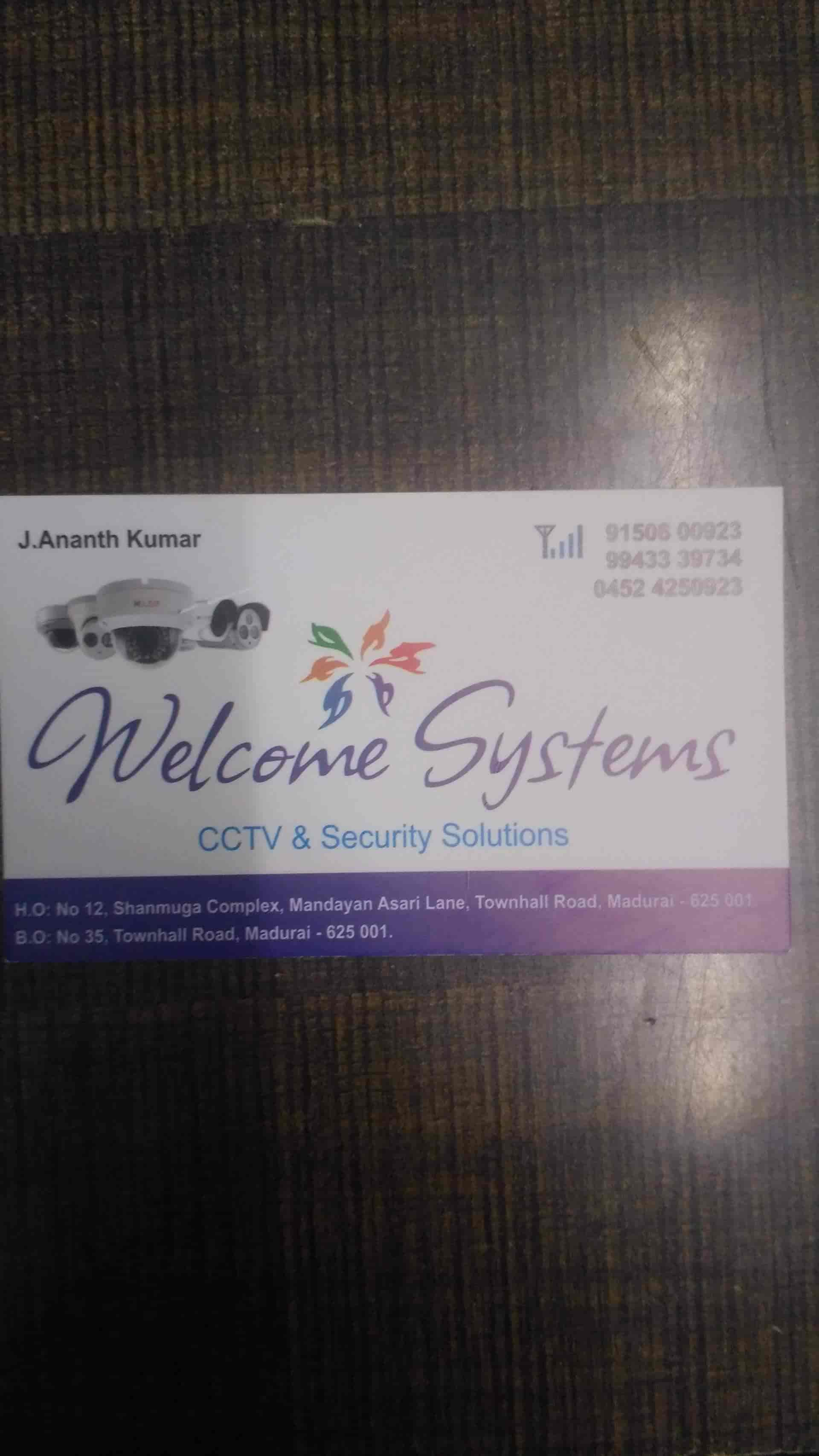 Welcome Systems, Town Hall Road - CCTV Installation Services