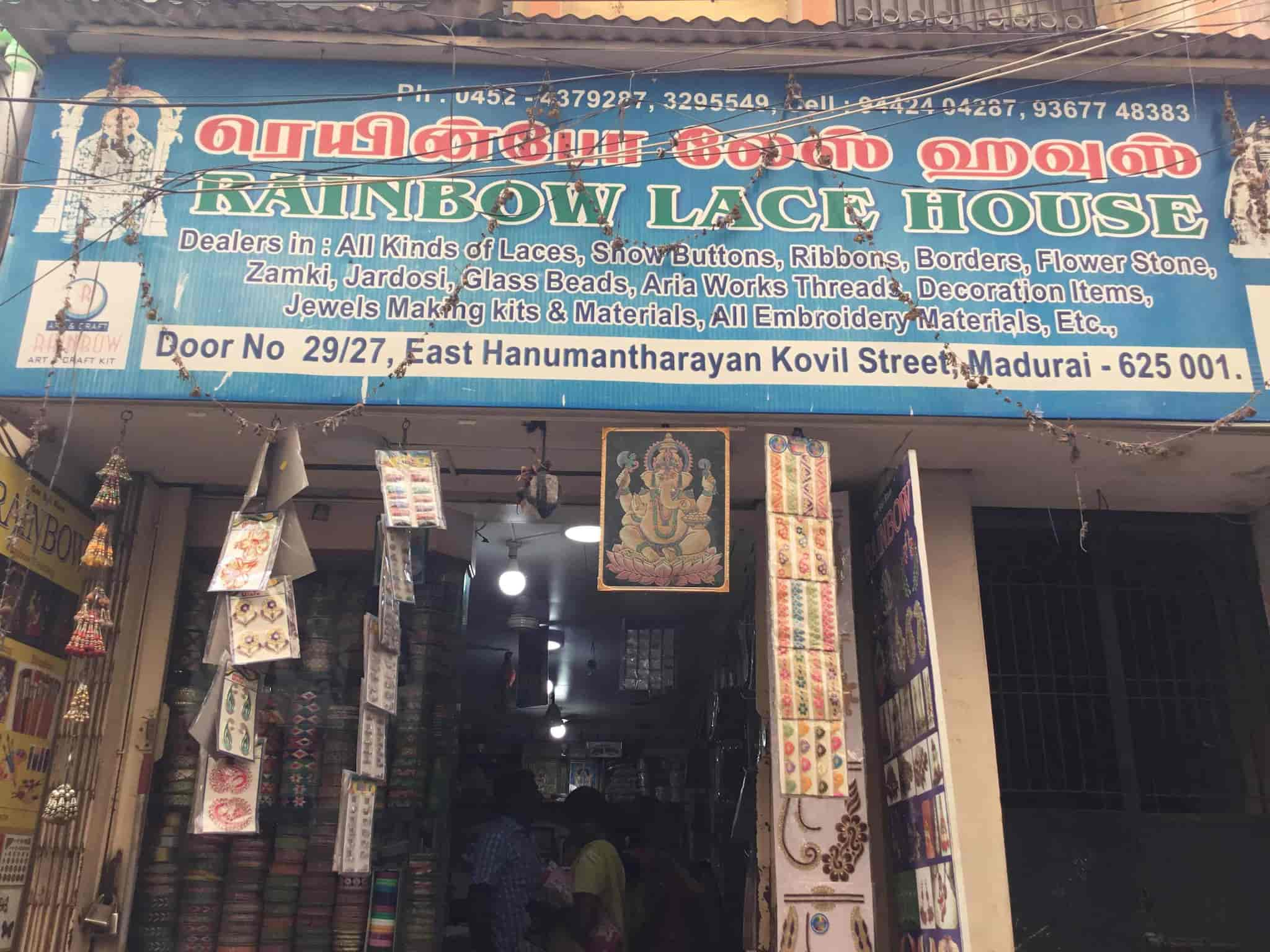 Rainbow lace house art material wholesalers in madurai justdial solutioingenieria Images