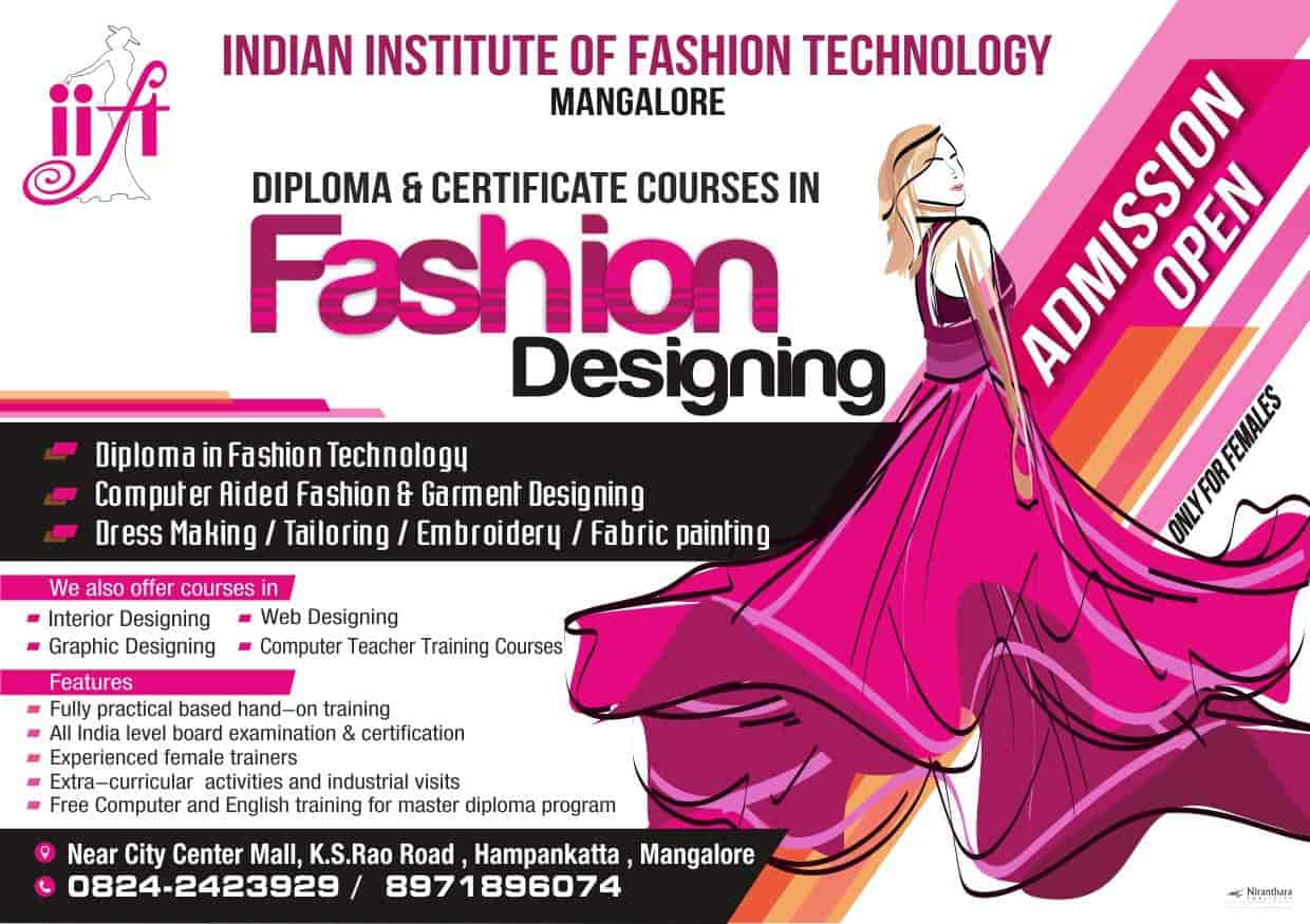 Top Fashion Designing Institutes In Mangalore Best Fashion Designing Courses Justdial