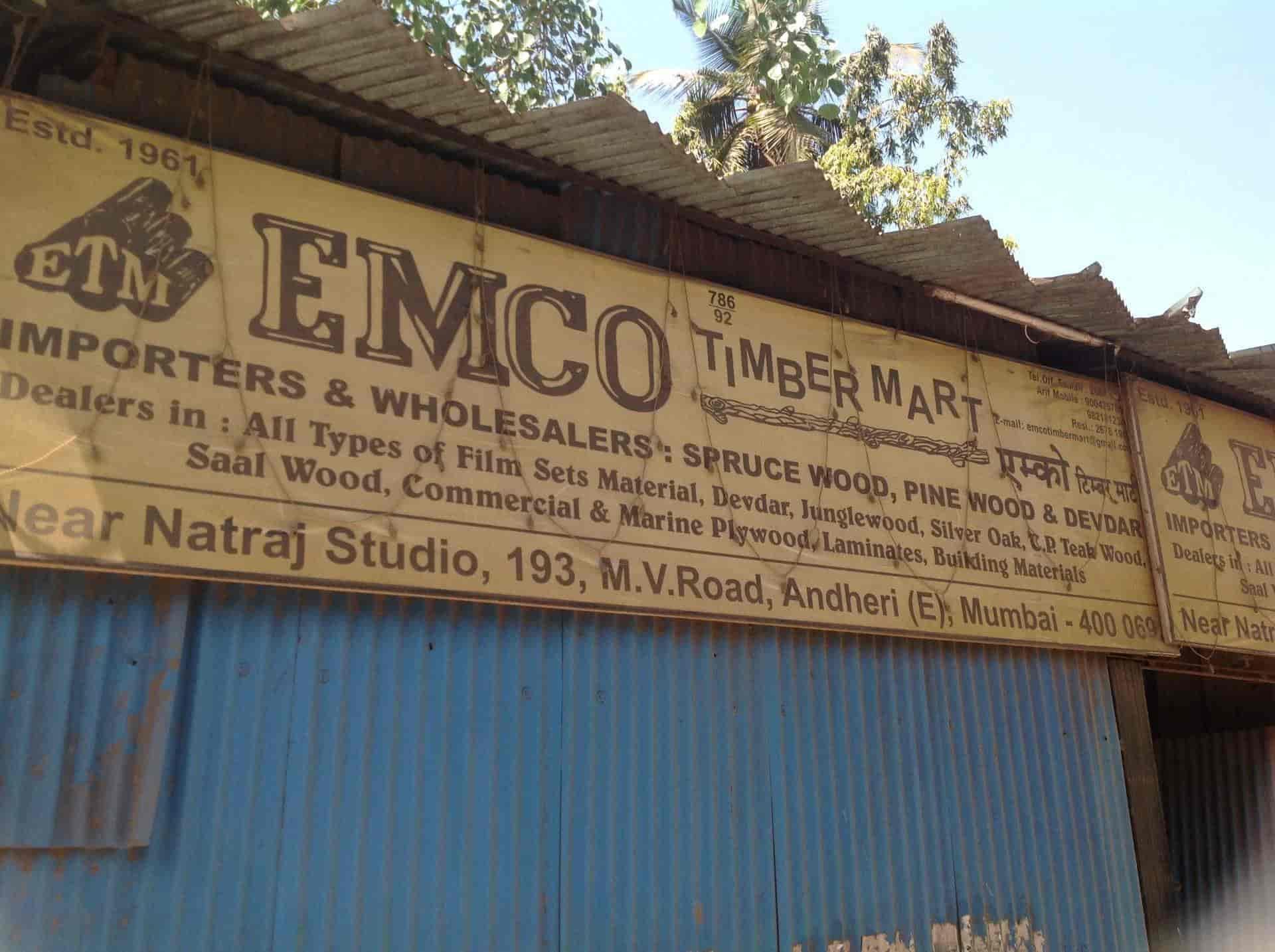 Emco Timber Mart, Andheri East - Timber Dealers in Mumbai