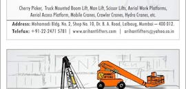 Top Boom Lift On Hire in Indore - Best Boom Lift Rental