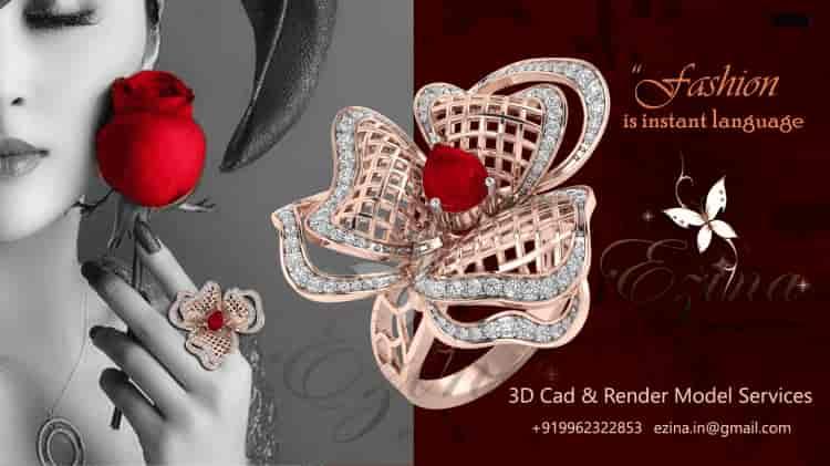 ... CAD CAM For Jewellery - Ezina Designs Photos, , Mumbai ...