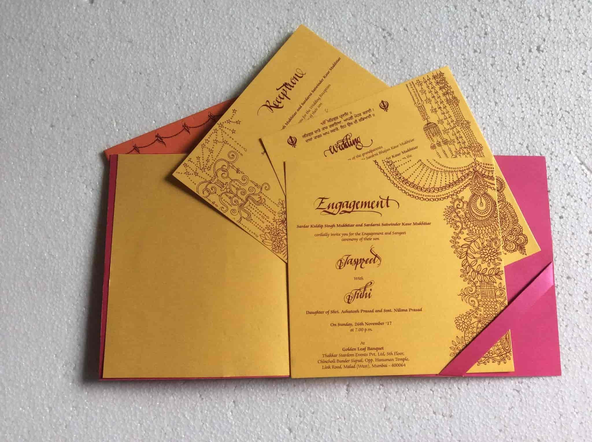 Top 100 Wedding Card Printers In Mumbai Best Marriage Card