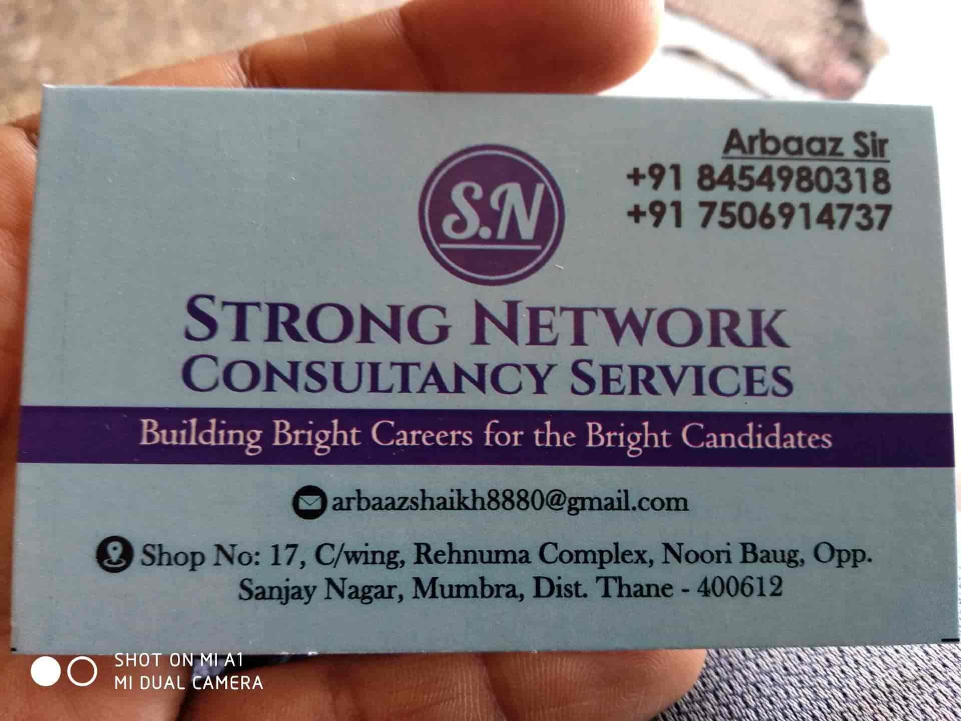 Strong Network, Mumbra - Placement Services (Candidate) in