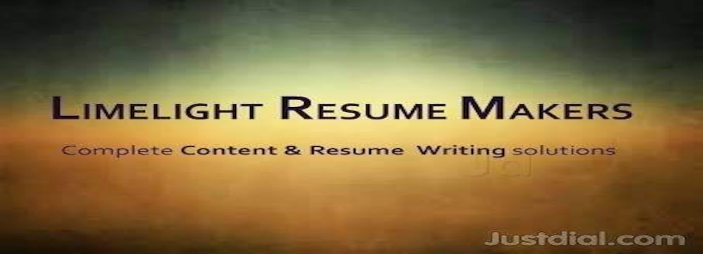 Limelight Resume Makers, Sharadadevi Nagar - Resume Preparation in ...