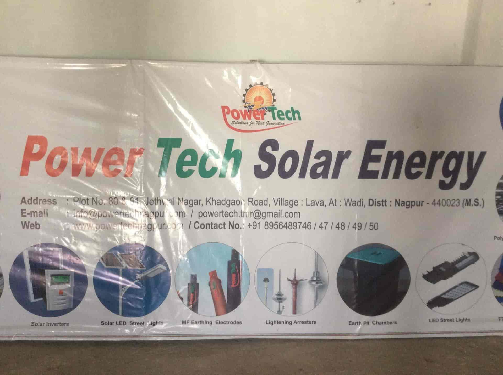 Power Tech Solar Energy, Wadi - Solar Panel Dealers in