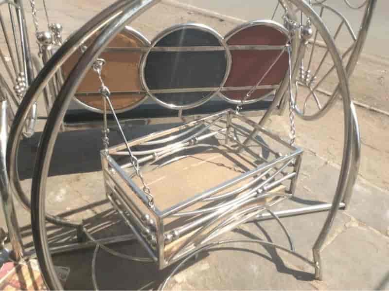 Superb KohiNoor All Ss Steel Furniture Work