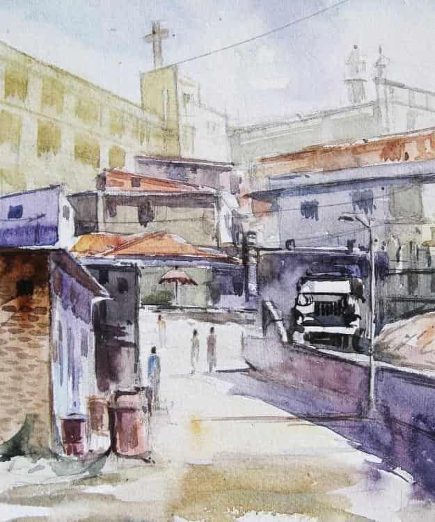 Architecture Drawing Classes In Mumbai black square art drawing classess, new panvel, mumbai - cookery