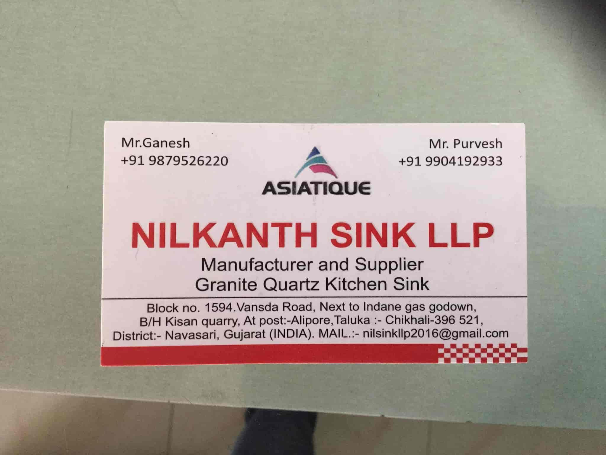 Nilkanth Sink LLP, Chikhli - Neelkanth Sink Llp - Kitchen Sink ...