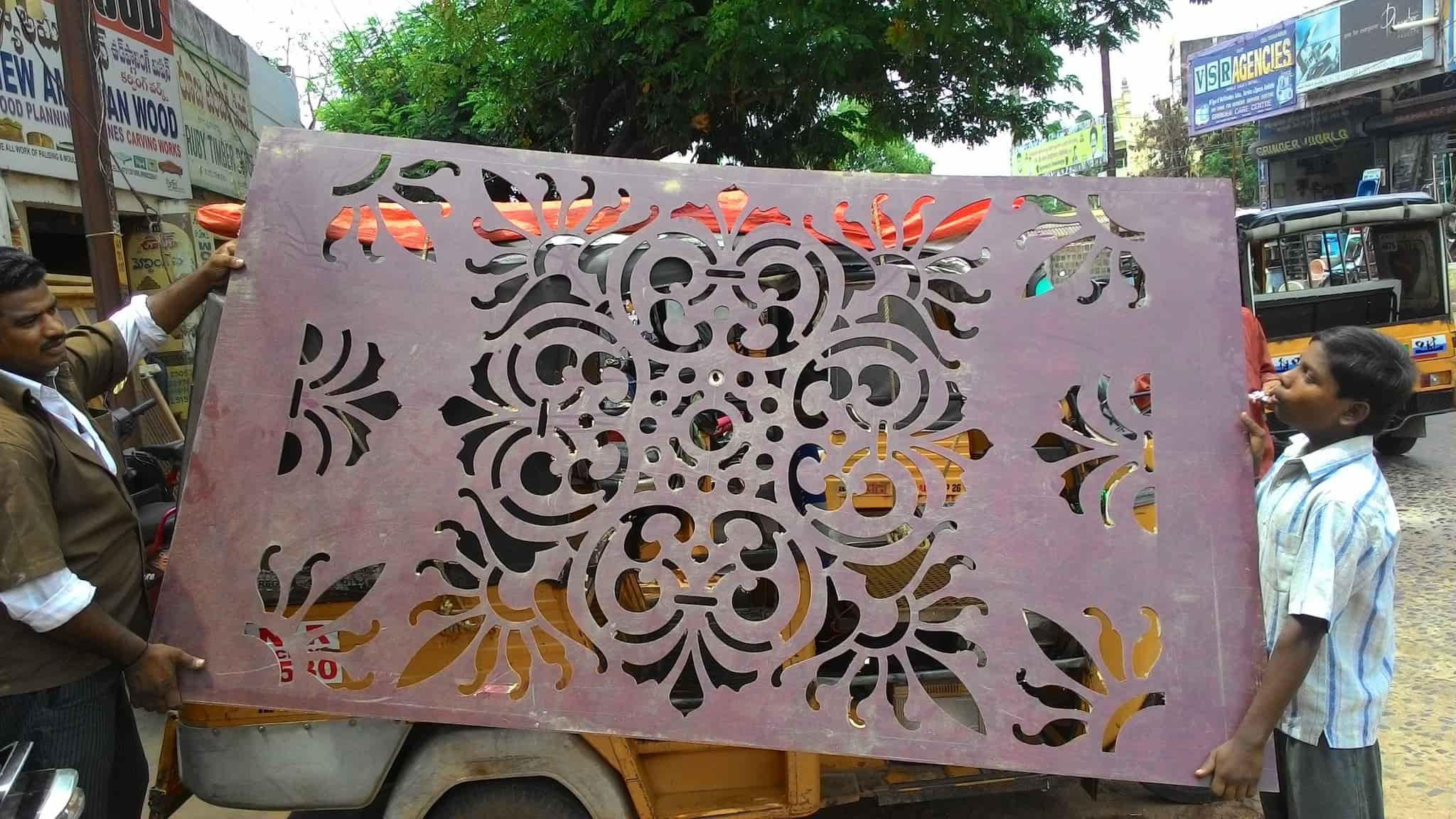 Ganesh CNC Carving Works, Santhapeta - CNC Job Works in