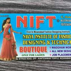 Navya Institute Of Fashion Designing Technical Subhash Nagar Fashion Designing Institutes In Nizamabad Justdial