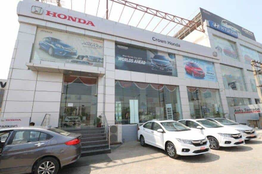 Crown Honda Sector 63 Car Dealers Honda In Delhi Justdial
