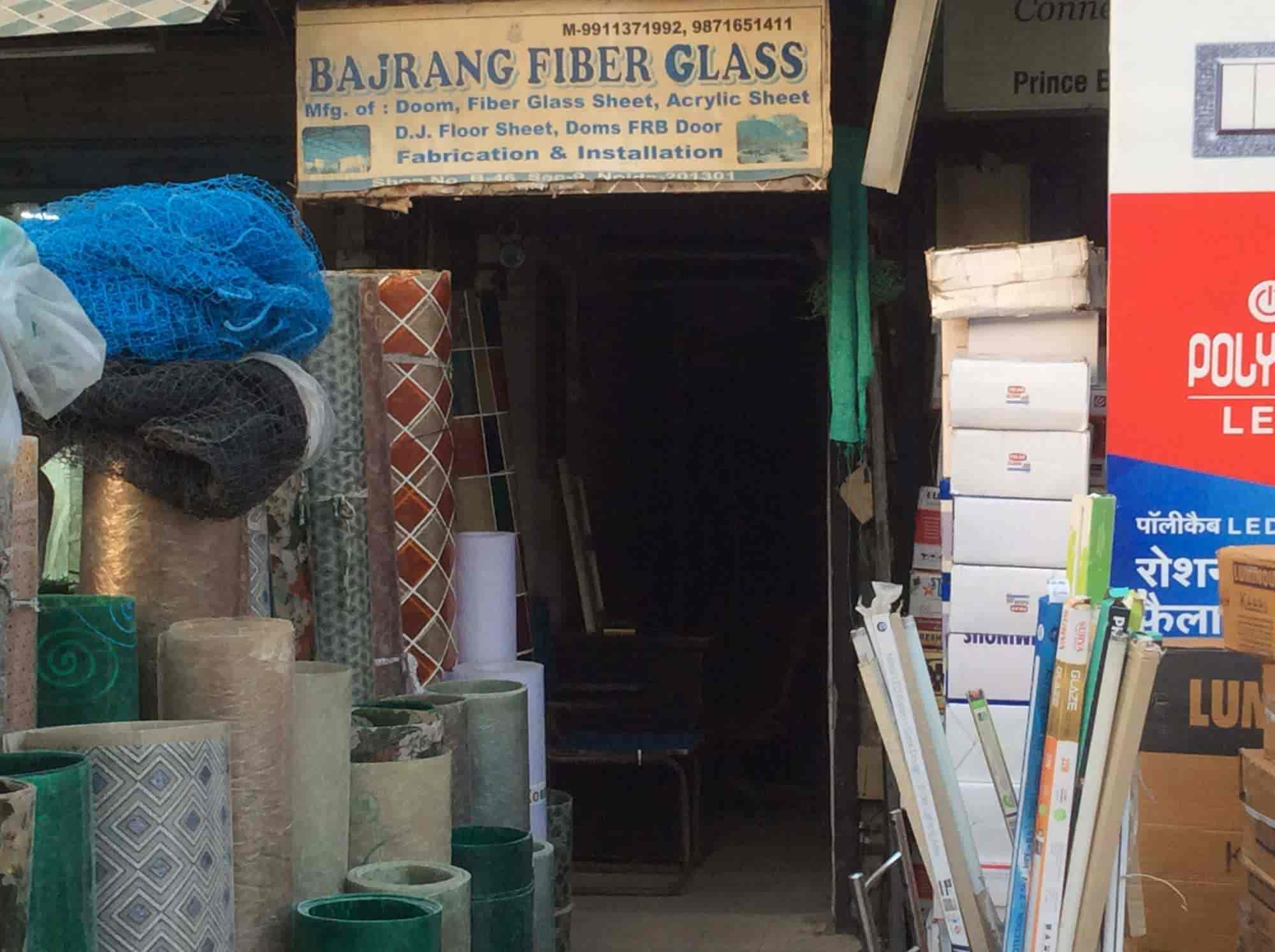 Bajrang Fibre Glass, Noida Sector 9 - Fibre Sheet Dealers in