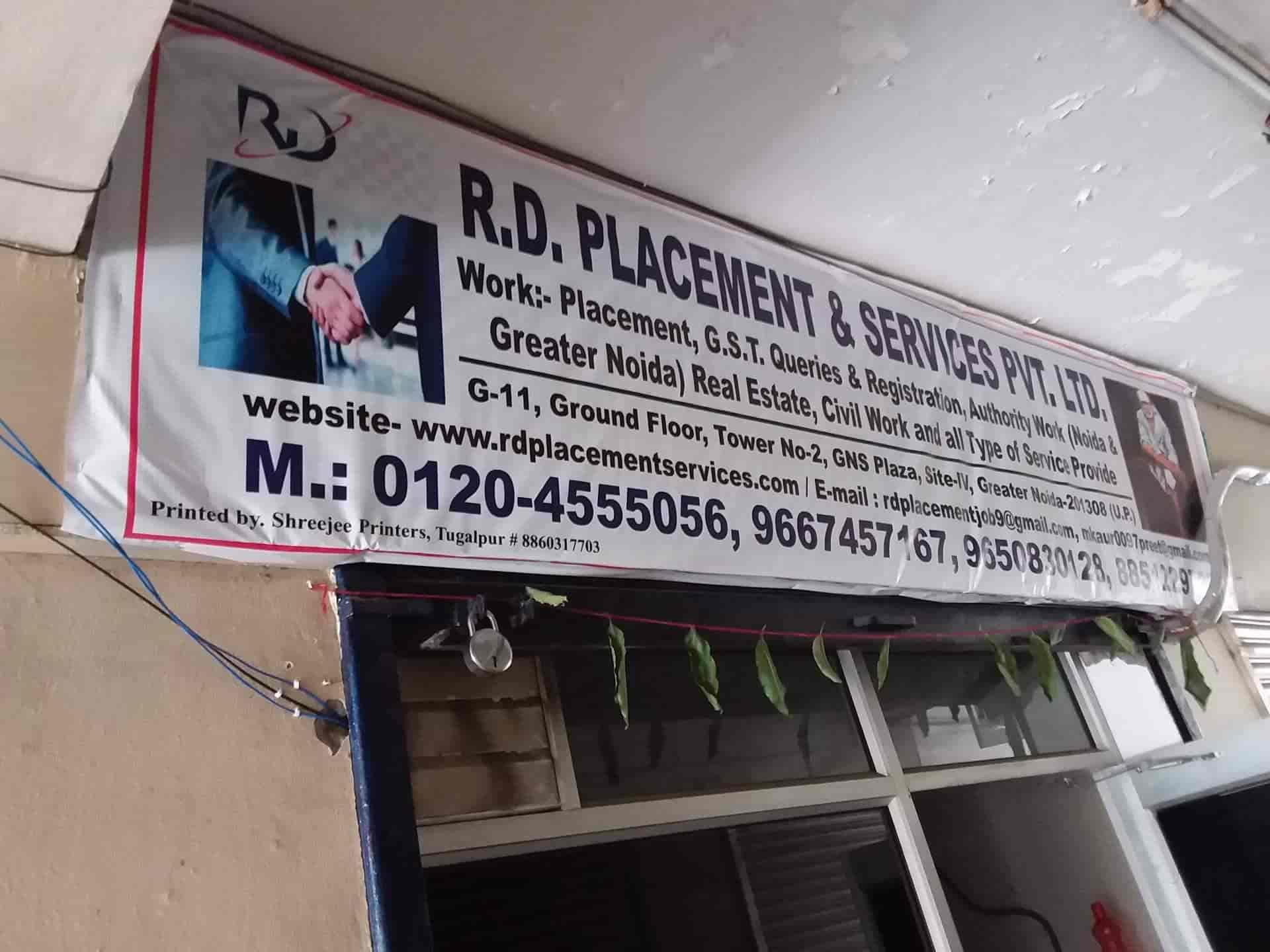 R d  Placement & Service Pvt Ltd , Greater - Placement