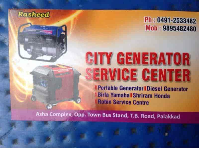 City Generator Service Centre, Palakkad HO - Generator