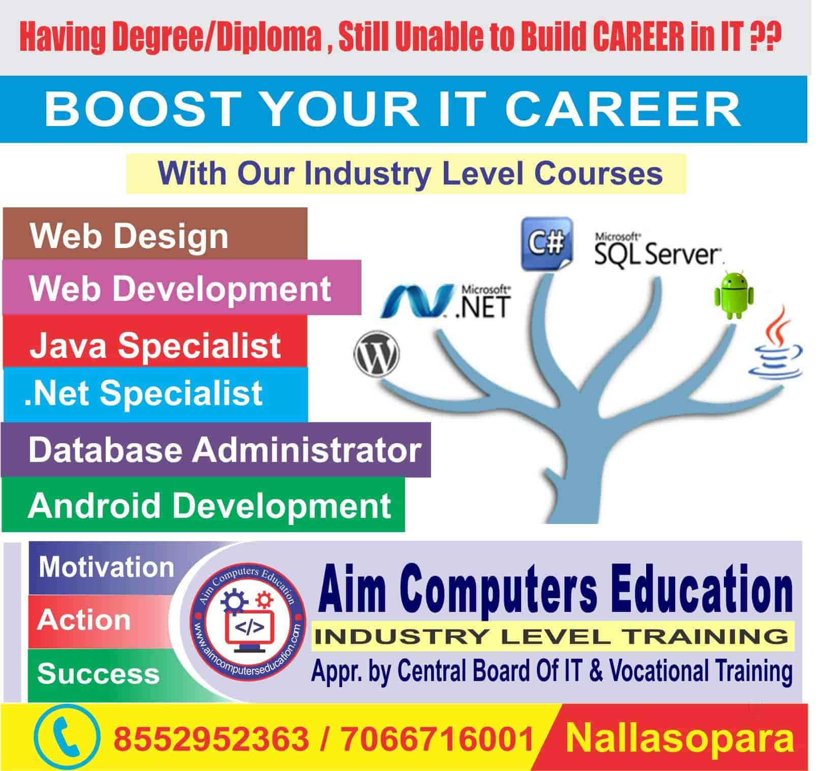 Aim Computers Education Photos Nalasopara East Palghar Pictures Images Gallery Justdial