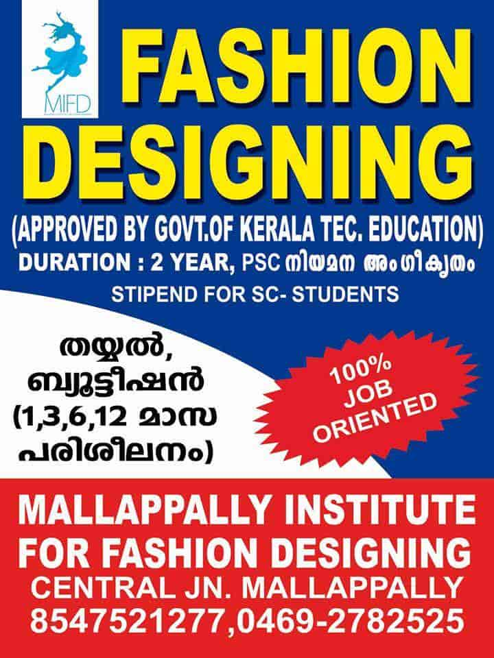 Top 20 Fashion Designing Institutes In Pathanamthitta Best Fashion Designing Colleges Justdial