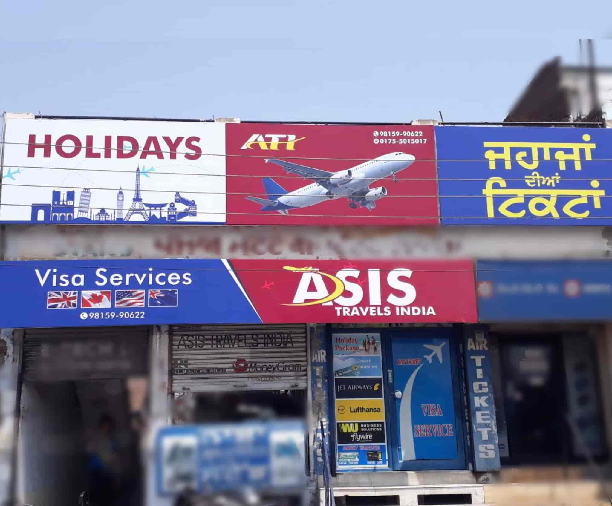 Asis Travels Travel Agents in Patiala Justdial