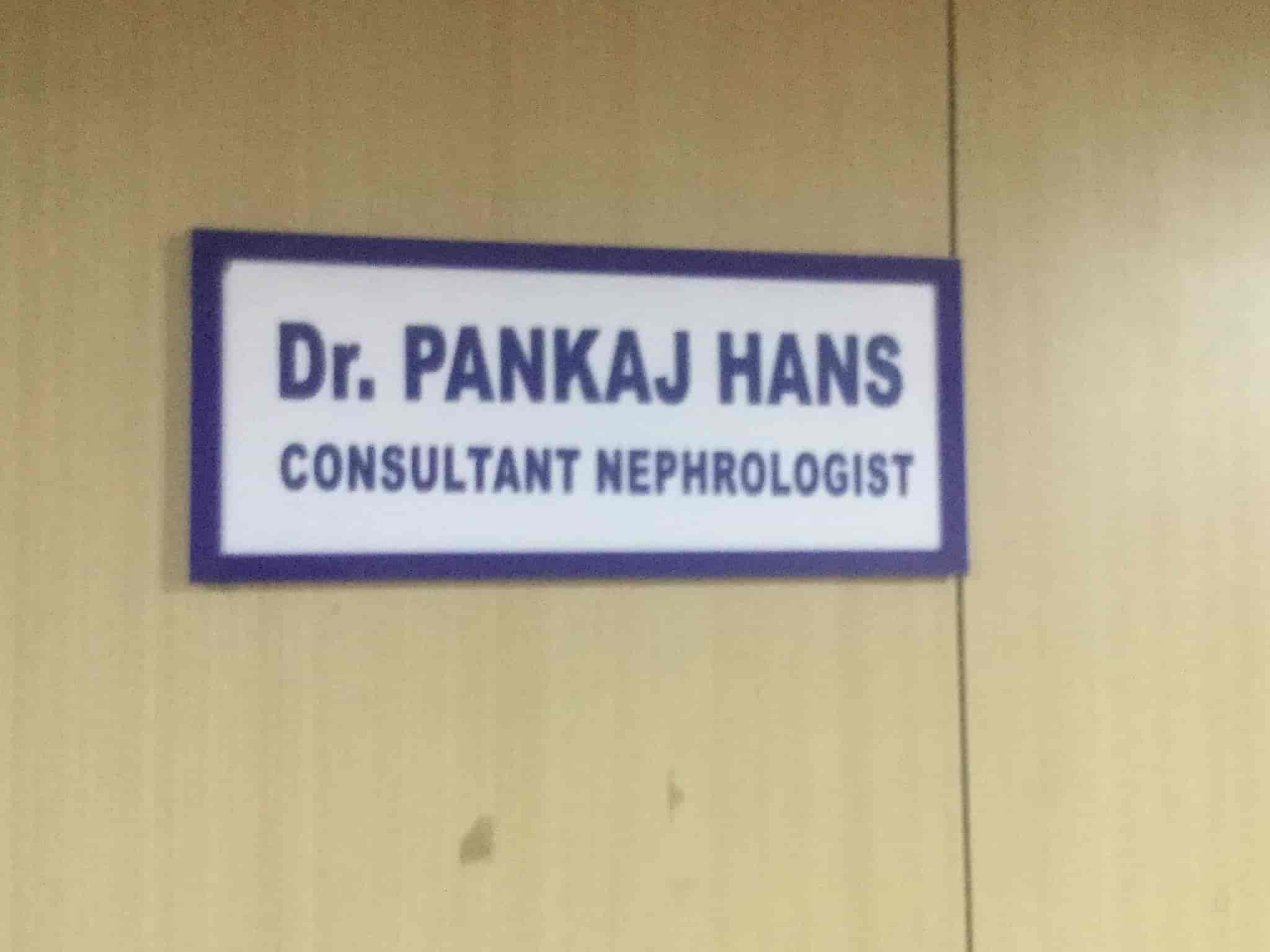 Dr  Pankaj Hans - Nephrologists - Book Appointment Online