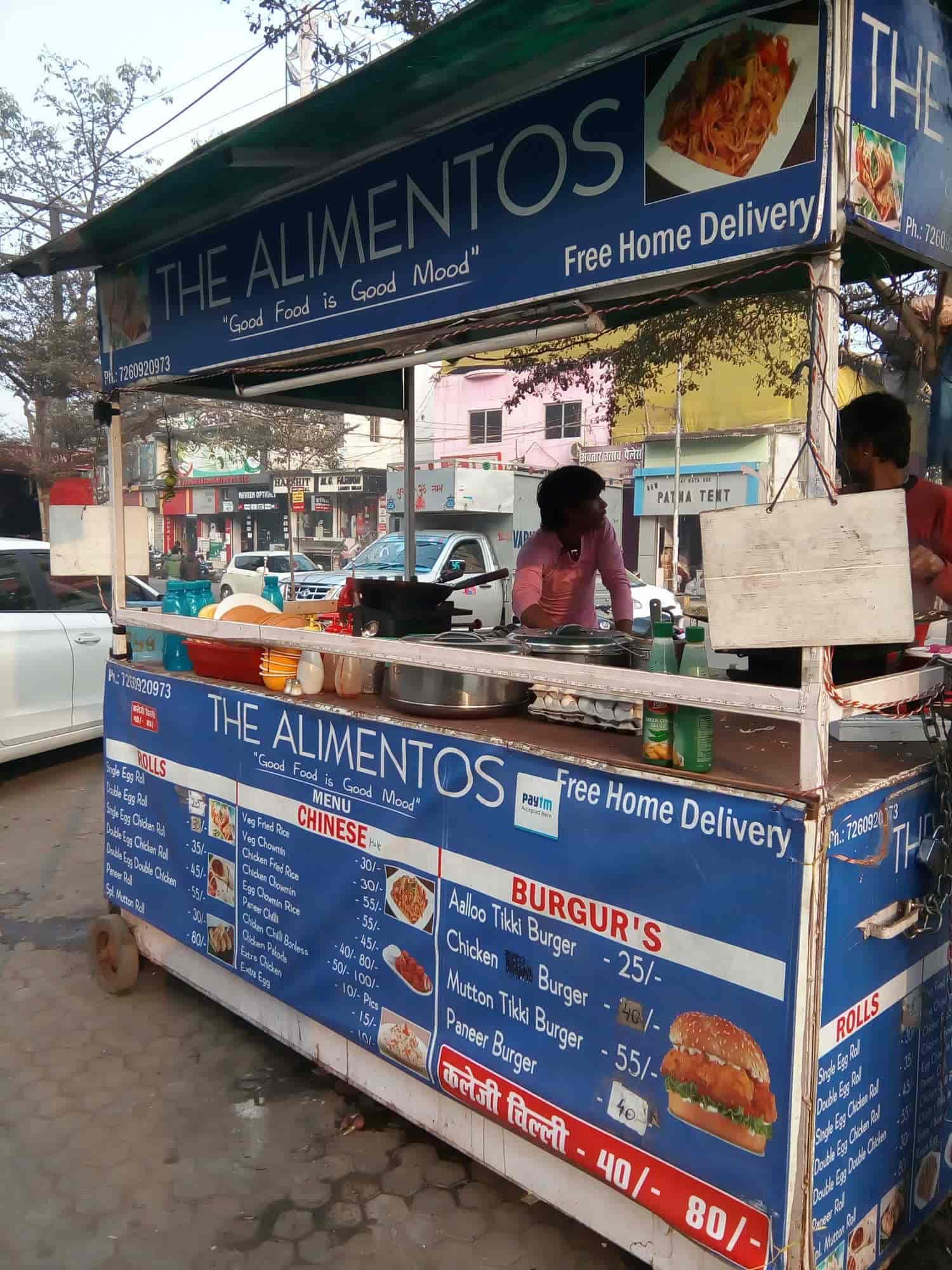 The Alimentos Good Food Is Good Mood Boring Road Patna