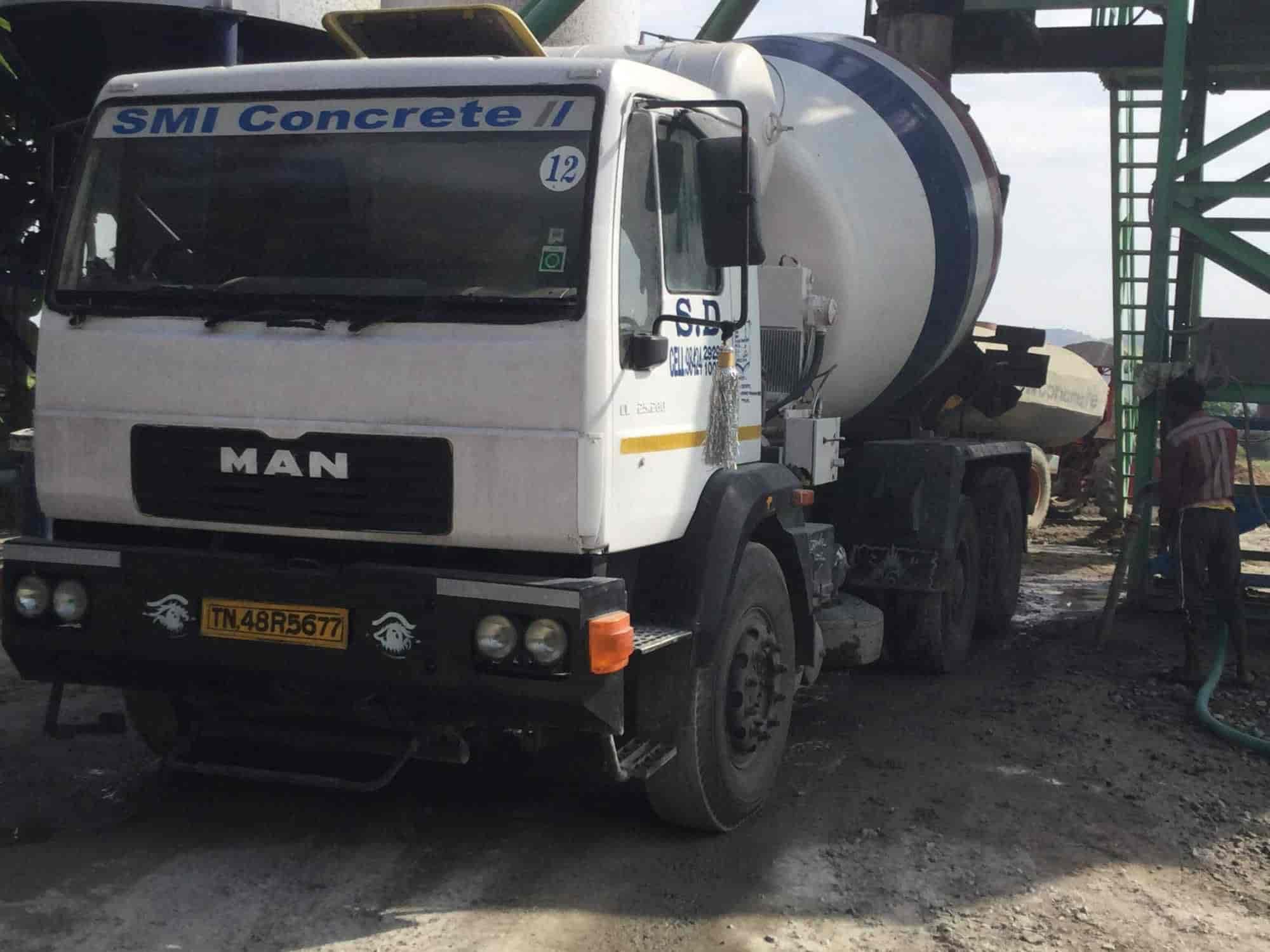 SMI Readymix Concrete, Ariyalur Main Road - Ready Mix