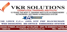 C++ Programming Training Institutes in Reddiar Palayam