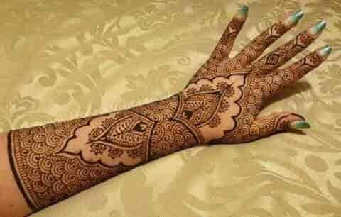Bridal Mehndi Cost : Bridal mehendi designs at low cost lawspet pondicherry