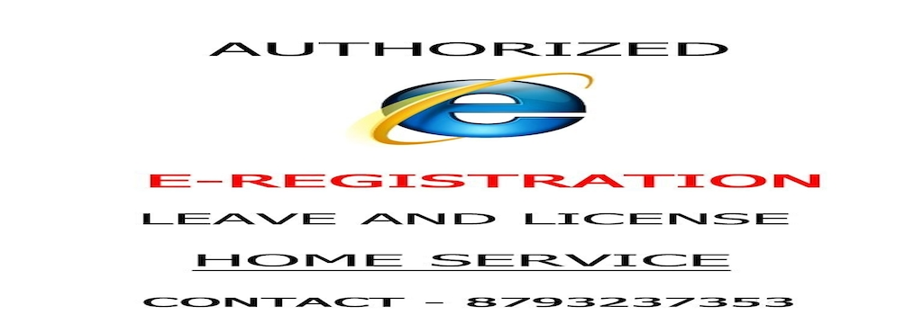 Authorized E Registration Leave And License Agreement Home Service