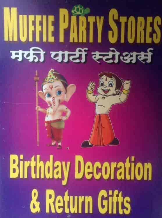 Muffiee Return Gifts Raviwar Peth