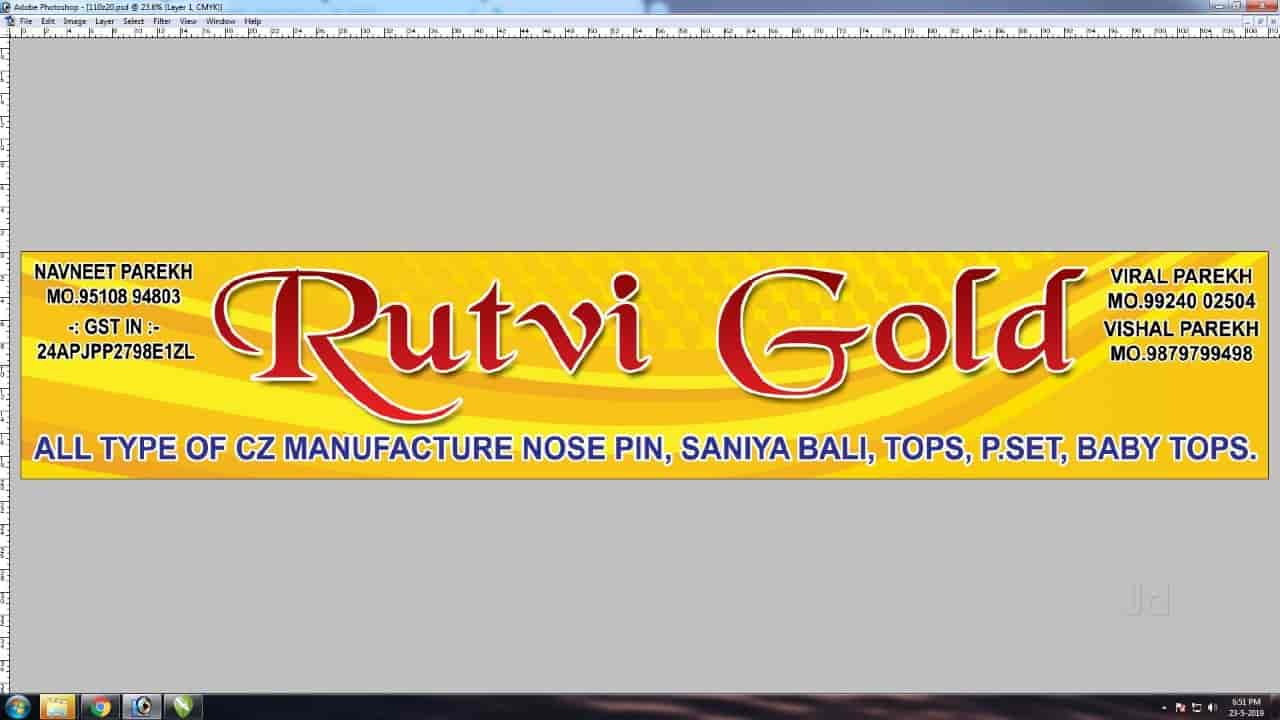 Rutvi Gold in Soni Bazar Main Road, Rajkot - Justdial