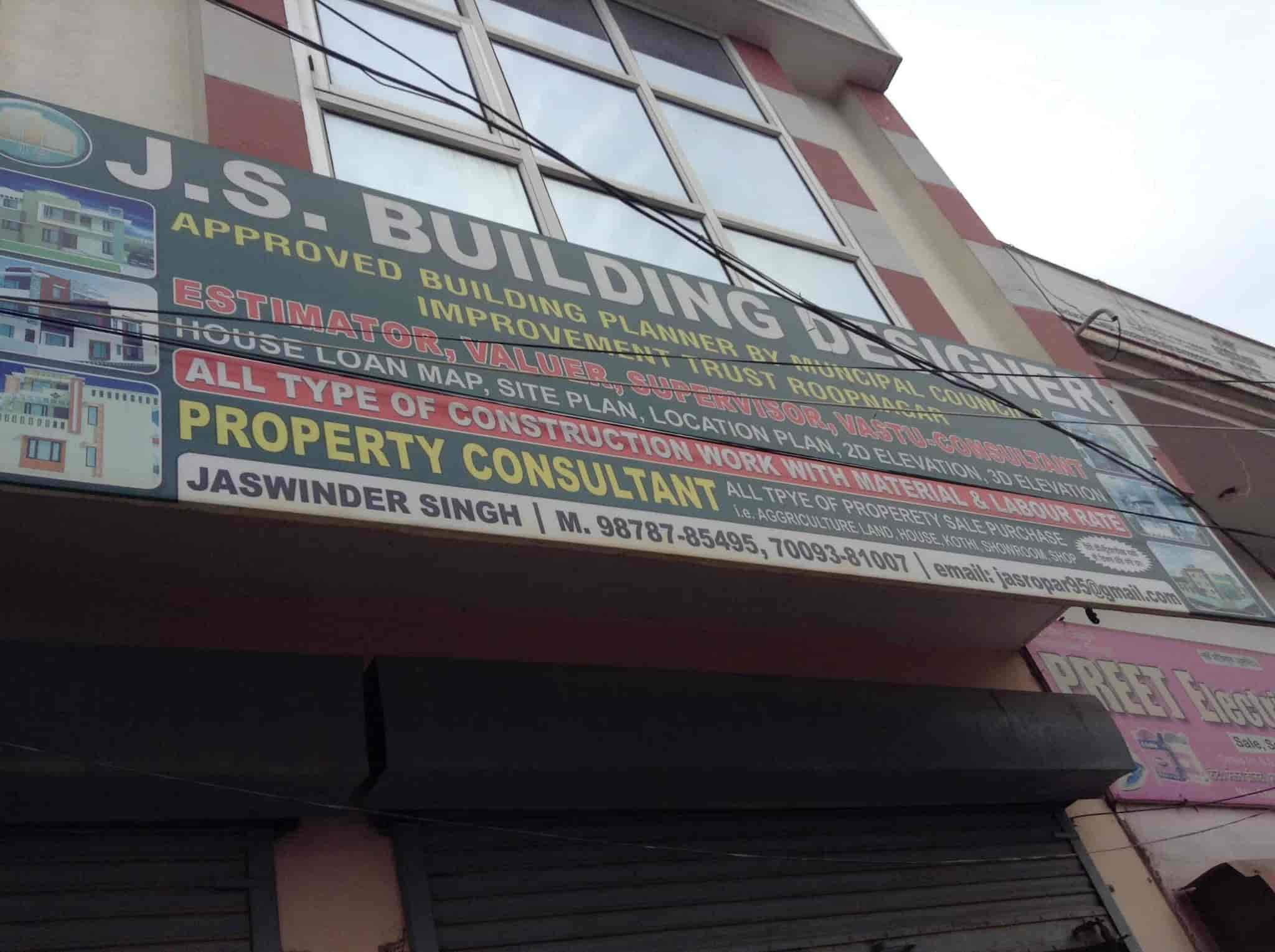 J S Building Designer, Ropar HO - Builders & Developers in