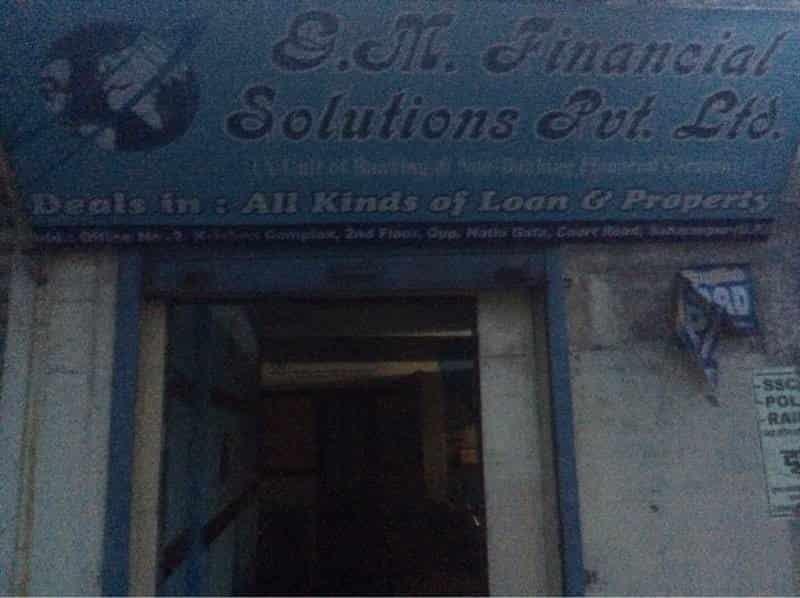 G M Financial Solution Pvt Ltd, Saharanpur Ho - Financial