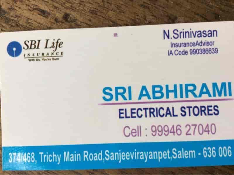 sri abirami electrical, Dadagapatti - Electrical Shops in Salem ...