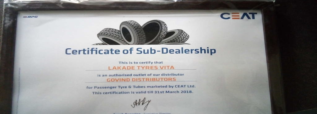 Lakade Tyres And Services, Vita City - Tyre Dealers-MRF in Sangli ...