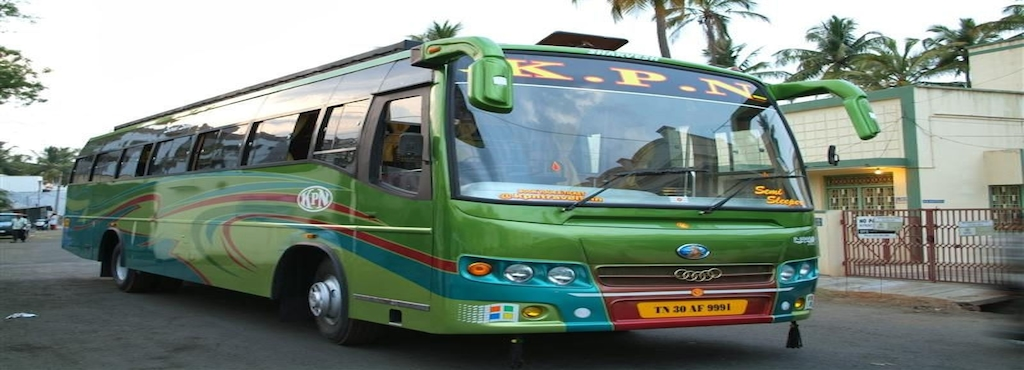 Kpn Travels Bus Ticket Booking
