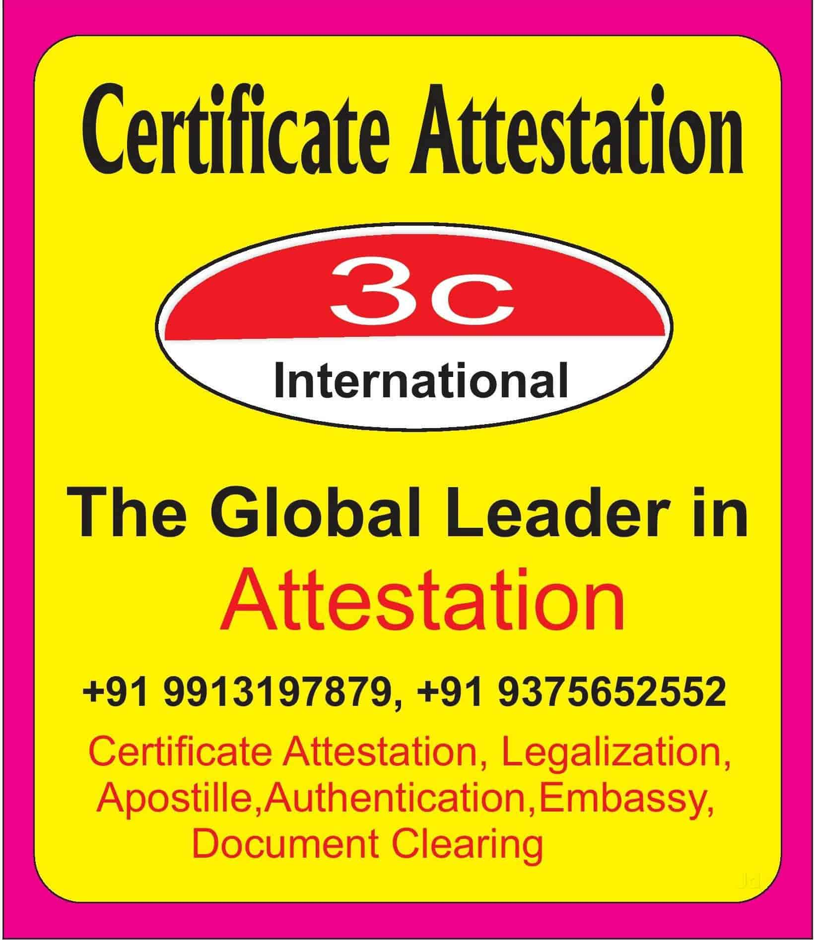 Apostille Services Citylight Road Apostille Certification