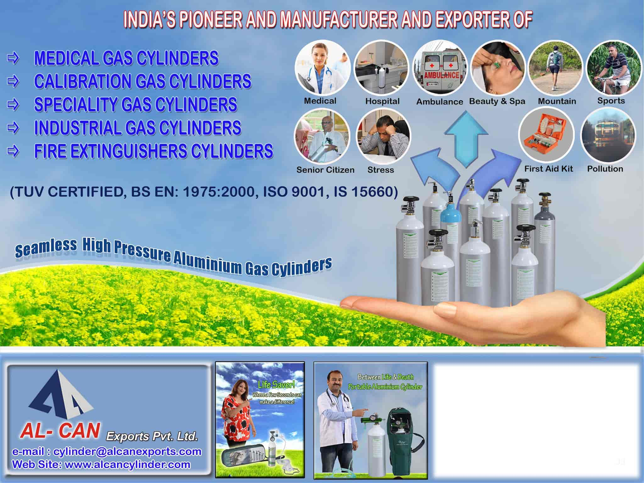 Al Can Exports Pvt Ltd, Bhayandar East - Fire Extinguisher