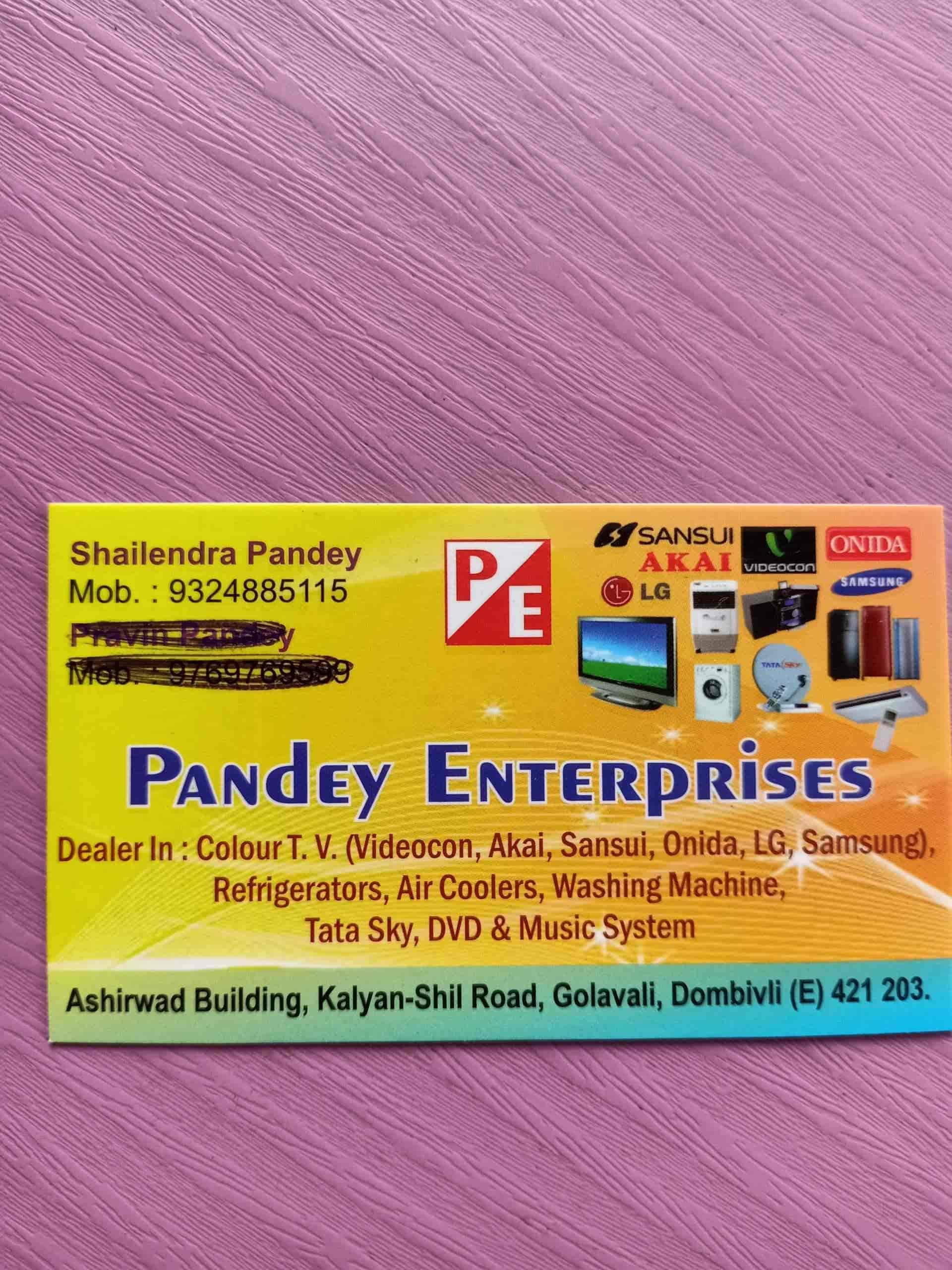 Pandey Enterprises, Dombivli East - DTH TV Broadcast Service