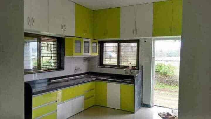 Modular Kitchen Design Works   Sai Modular Kitchen Photos, Thane West,  Mumbai   Modular ...