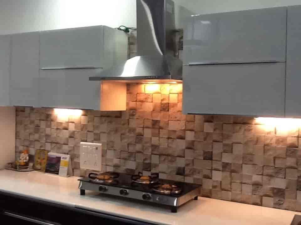 Modular Kitchen Design   Aesthetic Modular Kitchen U0026 Interior Photos,  Kasarvadavali, Mumbai   Modular ...