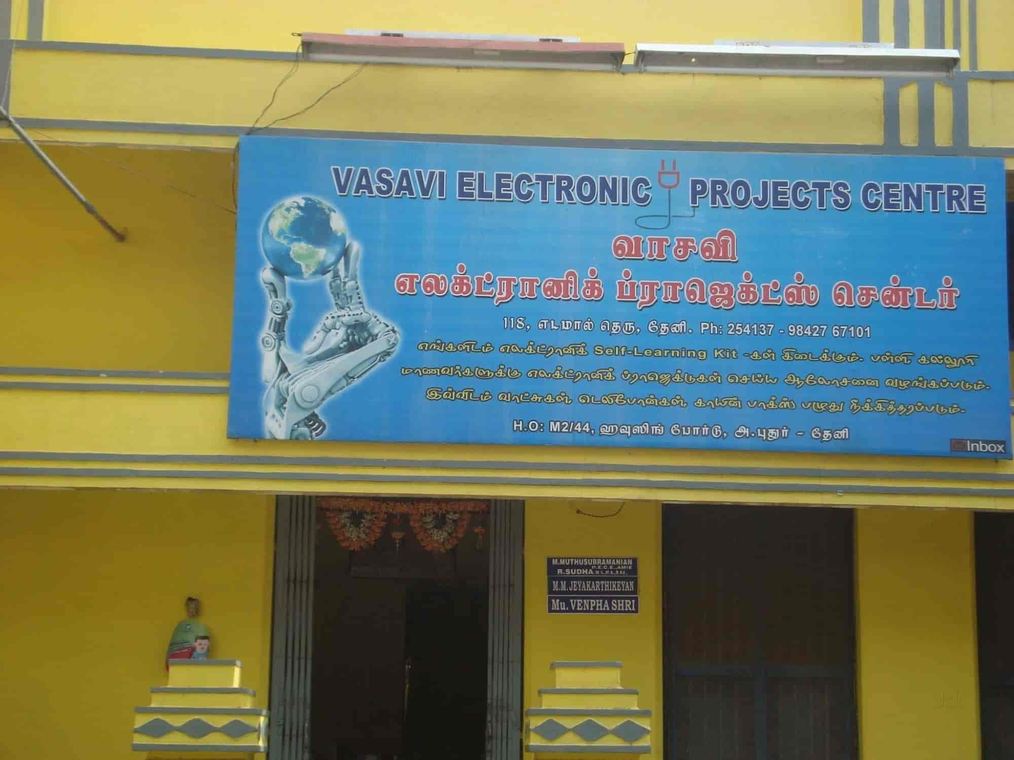 Vasavi Electronic Projects Center Project Work For Students In Circuit Theni Justdial