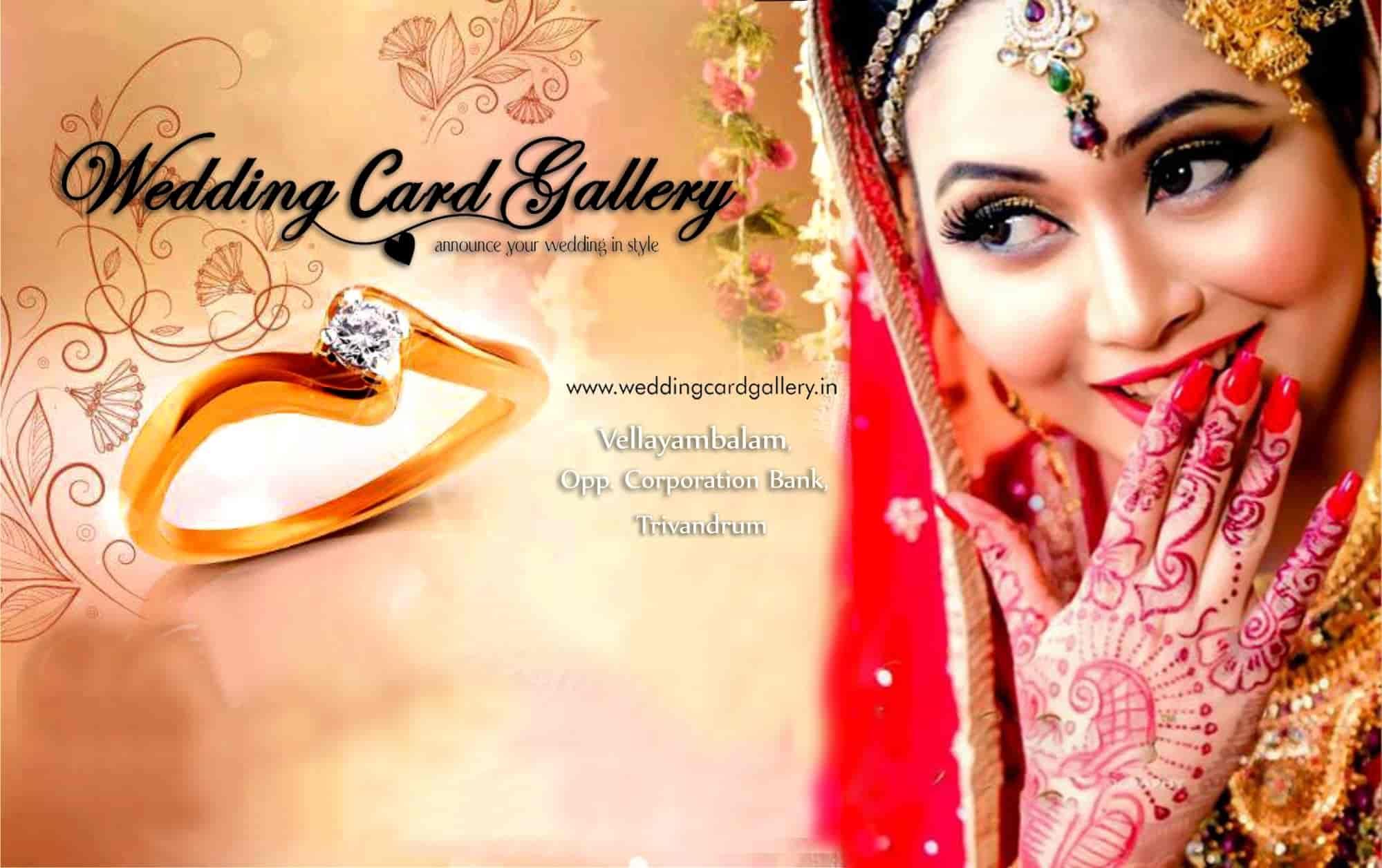 Wedding Card Gallery, Vellayambalam - Wedding Card Printers