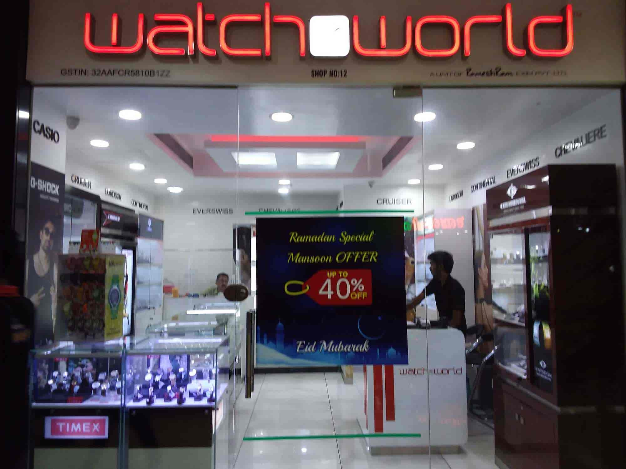 Watcho World, Thrissur East - Watche & Clock Manufacturers