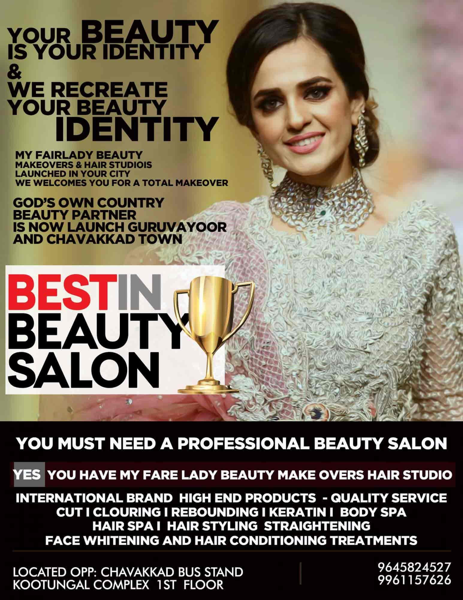 Top 30 Women Beauty Parlours In Guruvayur Best Ladies Beauty Parlors Thrissur Justdial