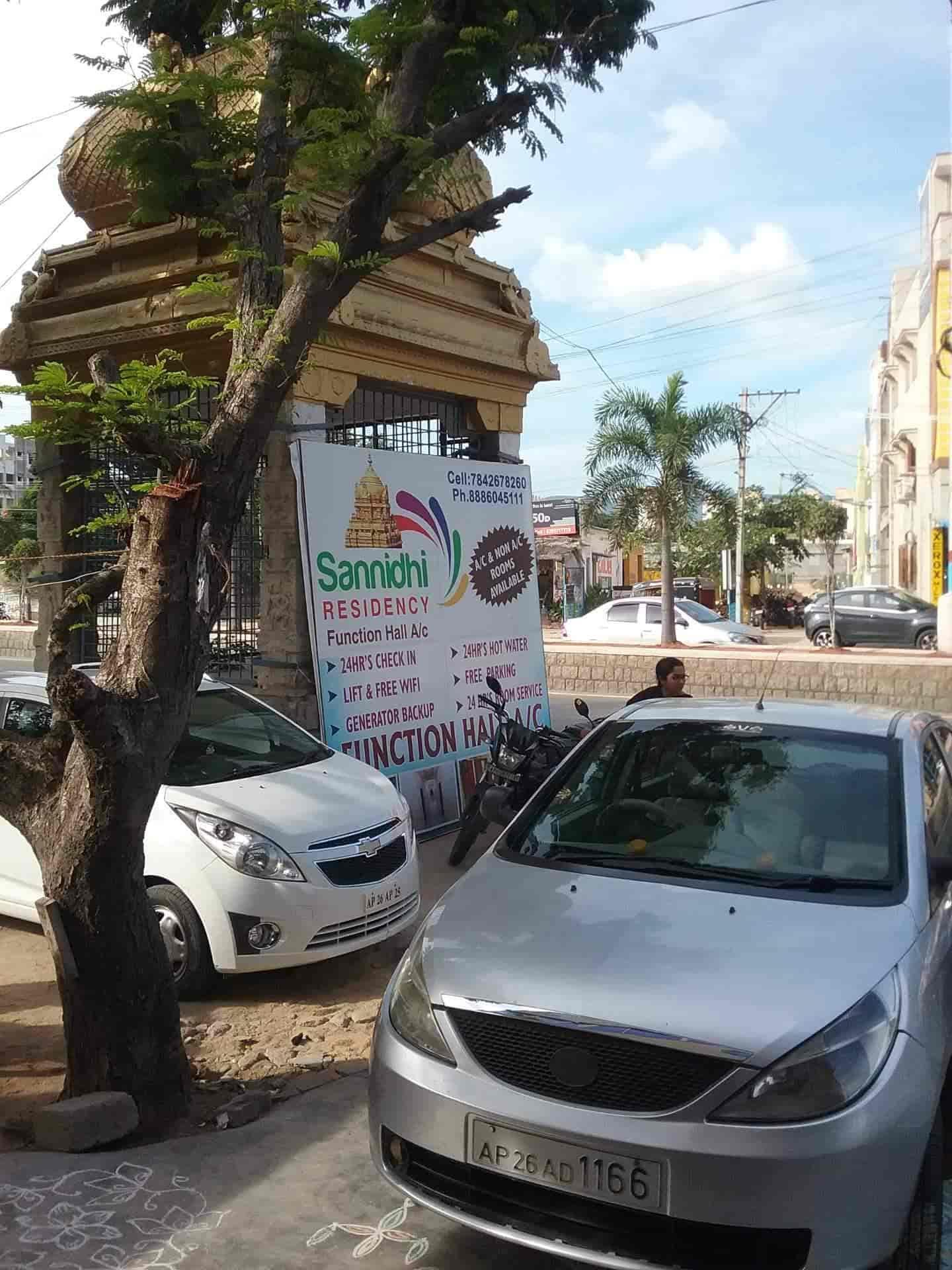 Sannidhi Residency, Tiruchanoor Road - 2 Star Hotels in