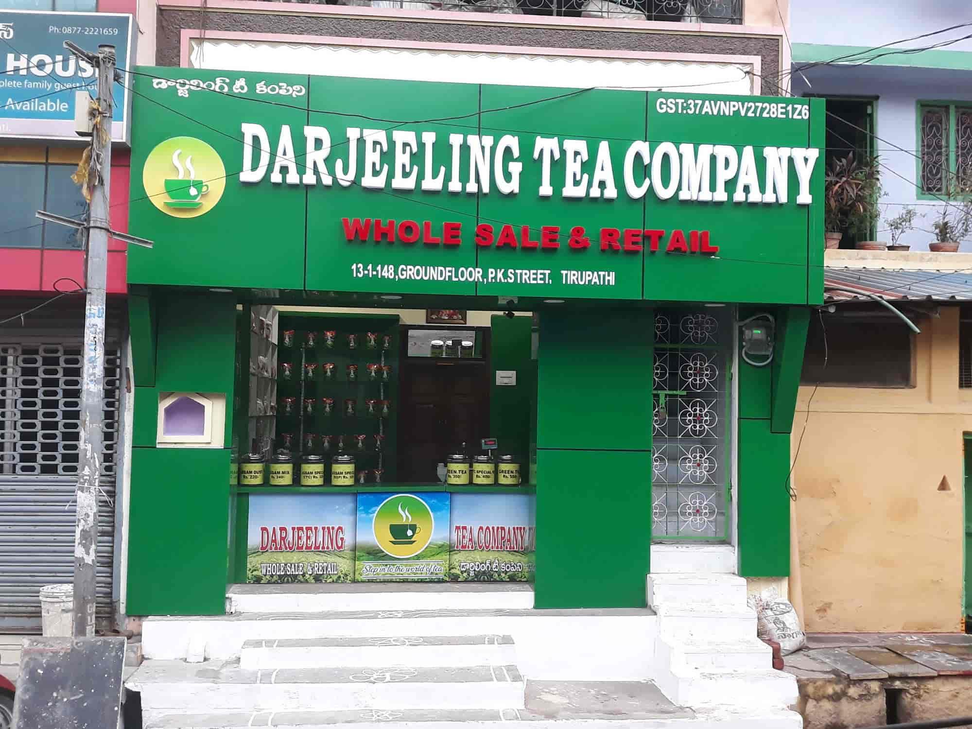 Darjeeling Tea Company, Bazar - Tea Wholesalers in Tirupati